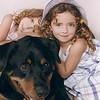 Sara, Sidney & Sumo - June 2001