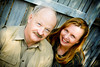 """Dennis & Rebecca, spring 2008. Photo taken by """"denali""""--Dennis' extremely talented daughter. Check-out her SmugMug page--it's awesome!"""