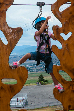 Utah Olympic Training Center - Aug. 2014 Family Reunion Activity