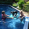 But the water feels cool on a hot day (me thinking like a Rat Terrier)