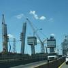 Construction of the new Goethels bridge