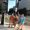 Evening tour of DC starts on Pennsylvania Avenue