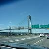 Verrazano Narrows Bridge leaving Brooklyn