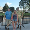 In front of the White House