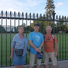 We walked around to the back of the White House for more pictures