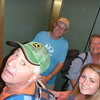 Met Steve at the hotel - heading up to our rooms