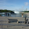 The falls from the Observation deck