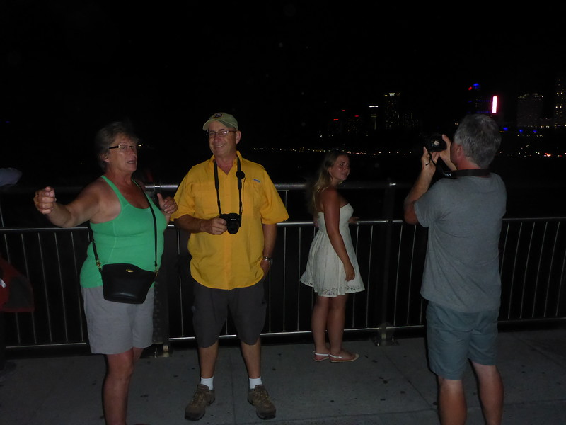 Friday evening of our 7 state tour. Arrived in Niagara Falls (NF) just in time to see fireworks and take some night shots of the Falls.