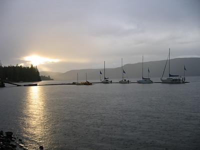 Vacances 2005 - Moberly Lake