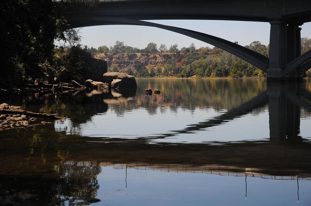Lake Natoma, Folsom, Ca. in front of our hotel