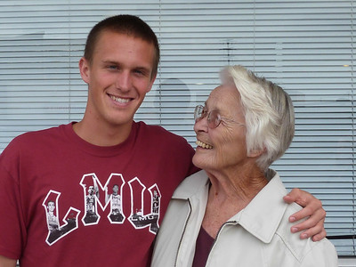 Daniel and his grandma