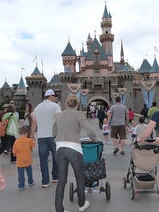 The Bertolero Family heads for the castle