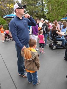 Disneyland--before it opens!