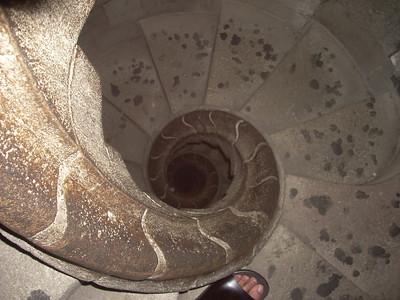 Sagrada Famiglia Spiral staircase