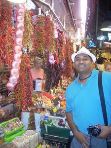 La Boqueria Juan w/ peppers