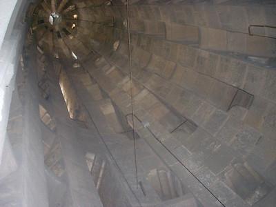 Sagrada Famiglia into spire