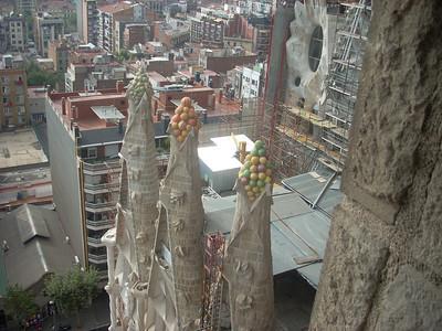 Sagrada Famiglia towers