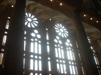 Sagrada Famiglia Window