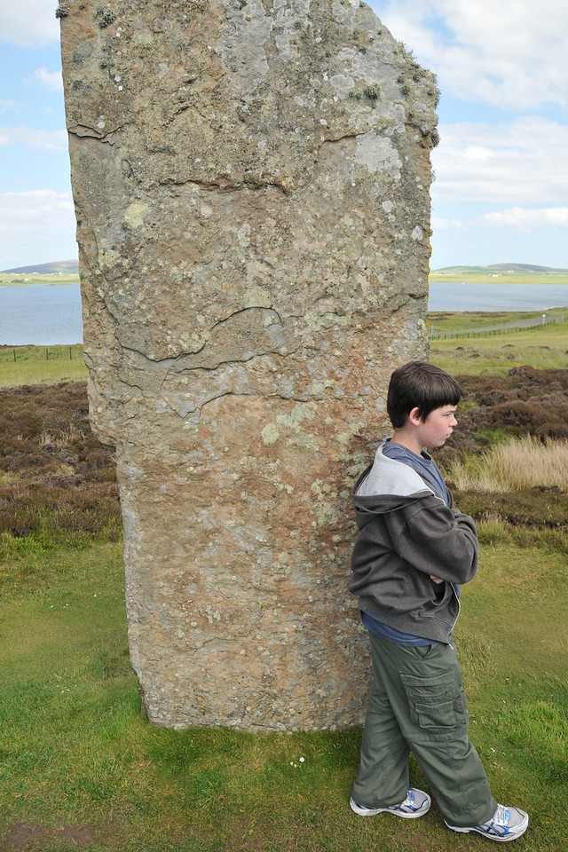 Corwin and the megalith just aren't talking anymore.