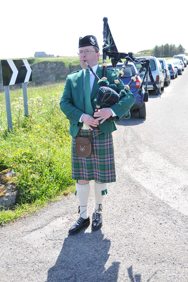 Piper for parade.