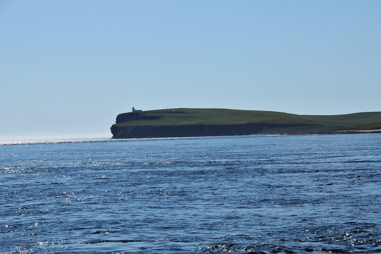 Duncanby Head from the ferry.