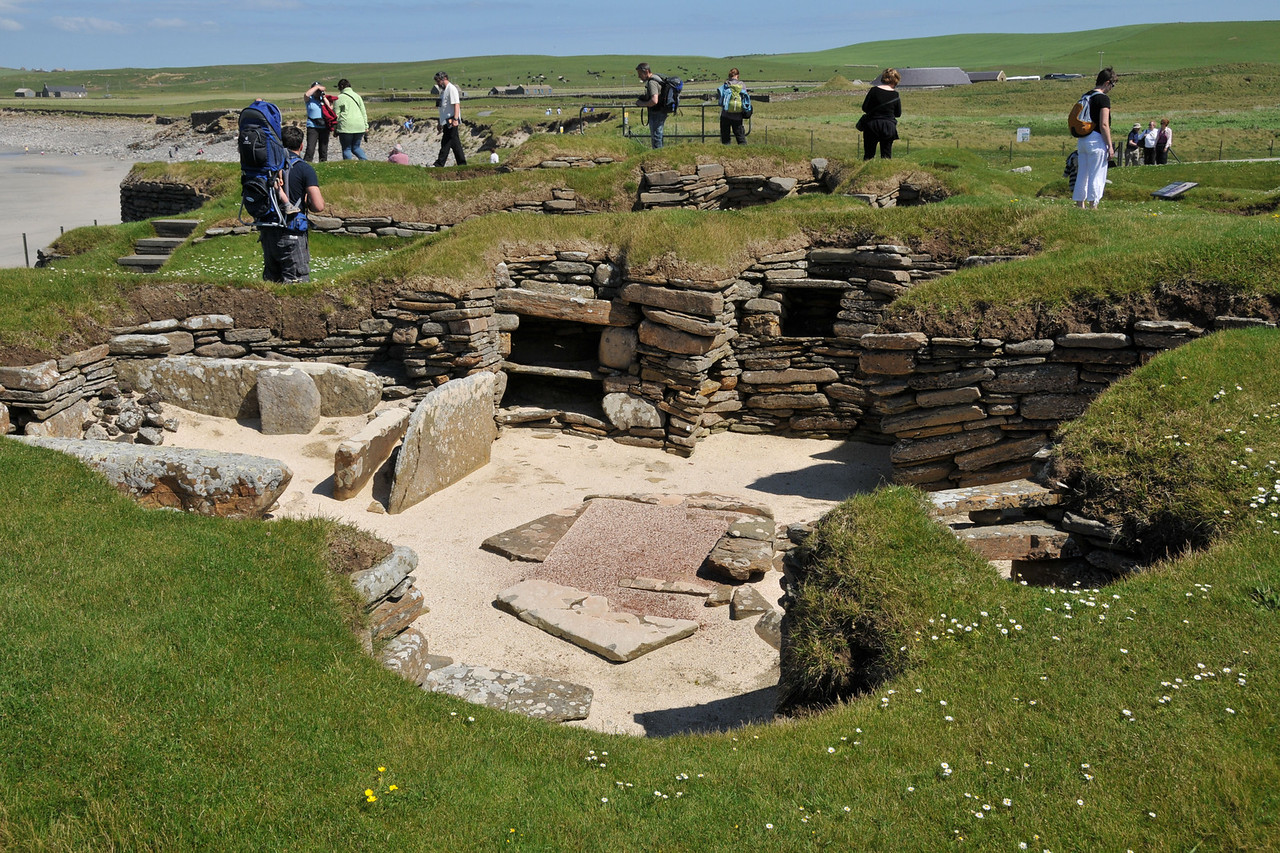Actual Skara Brae (thought to be the workshop)
