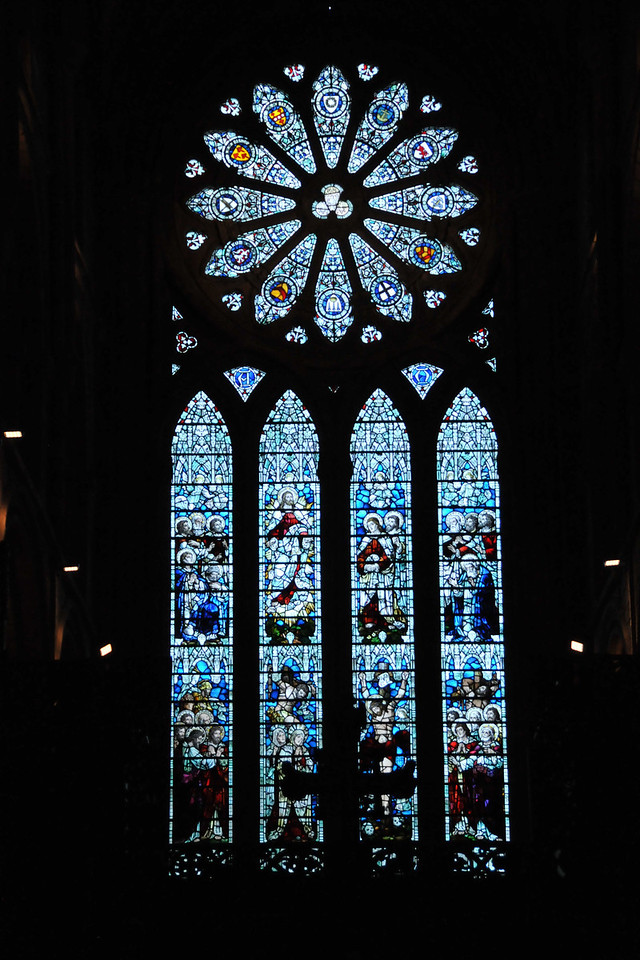St. Magnus stained glass.