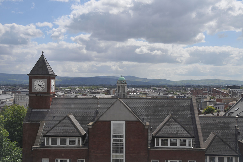 View from Dublinia tower.