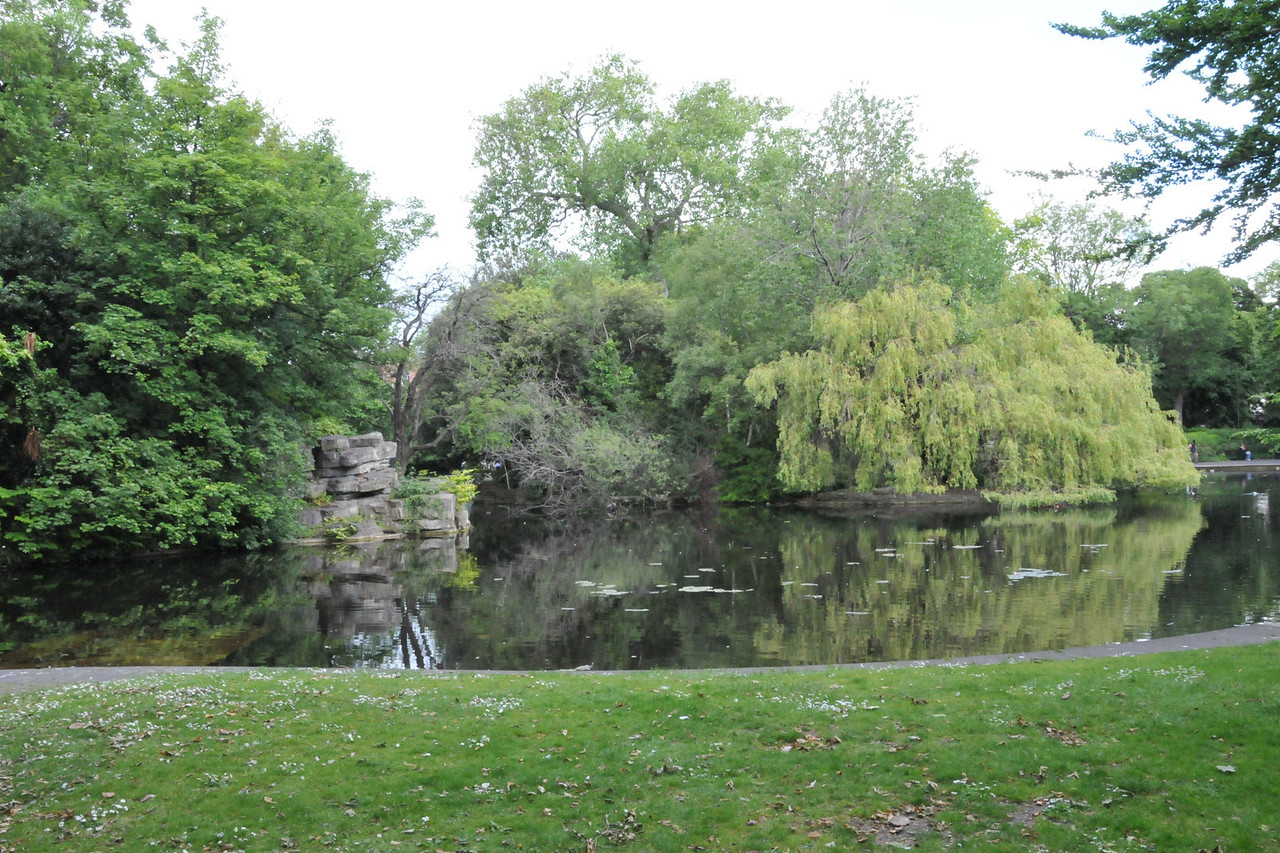 Pond at St. Stephen's Green