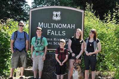 Multnomah Falls Hike - 2011