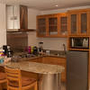 Kitchen in our suite. Don't cook much, but comes in handy for breakfast & snacks.