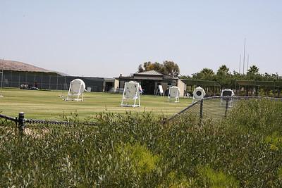 Olympic archery training range.