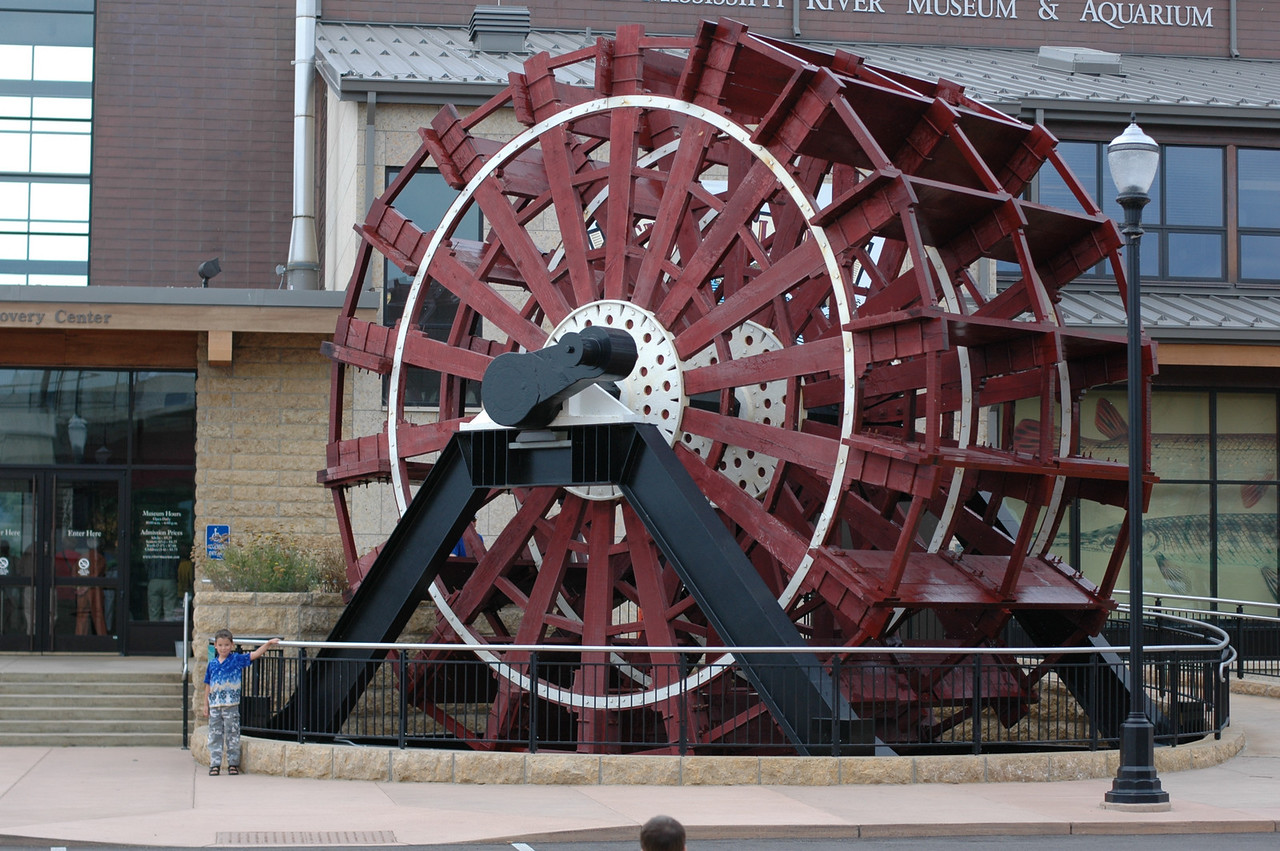 The Big Wheel outside the museum