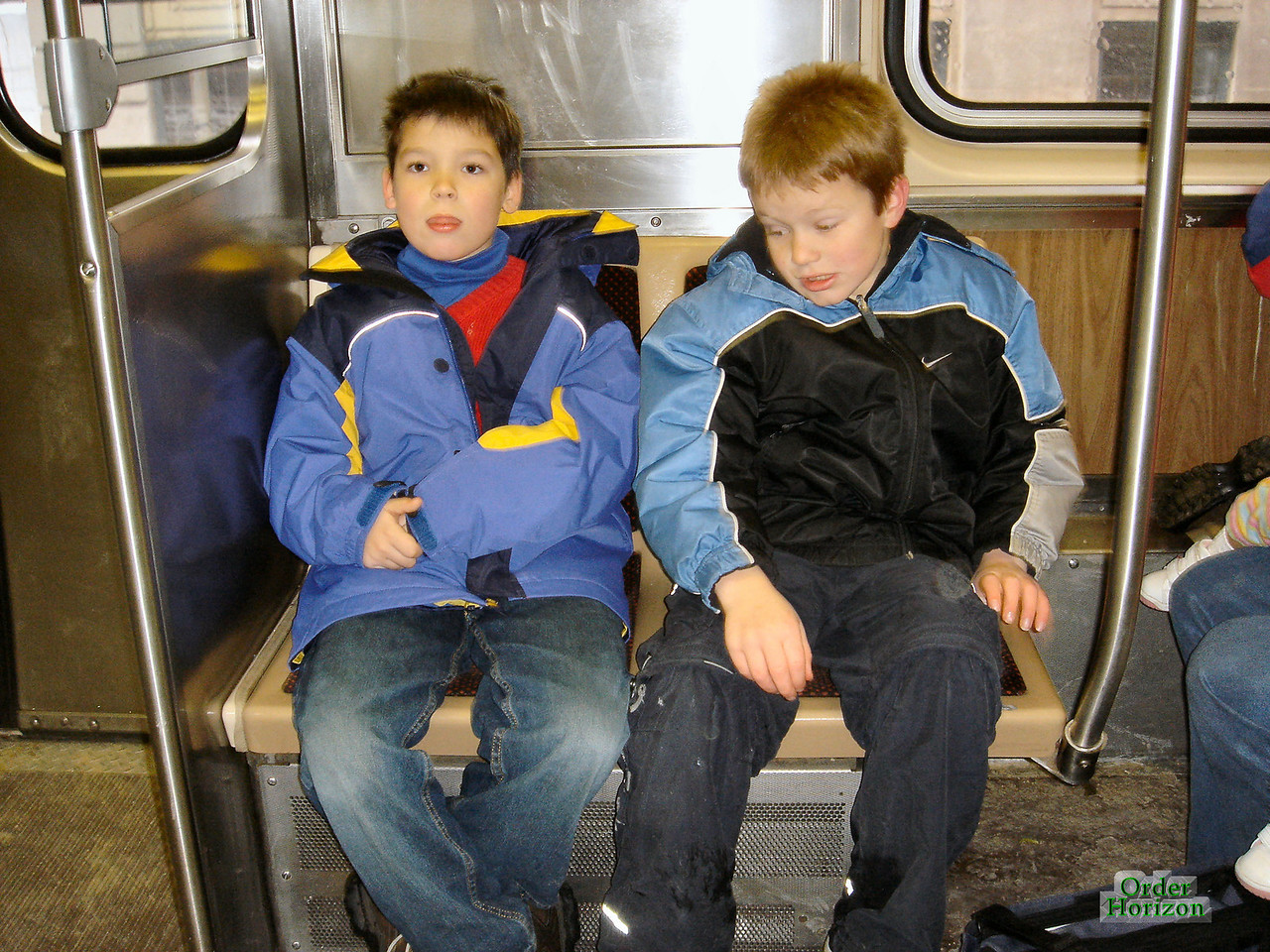 Some thugs we saw on the subway