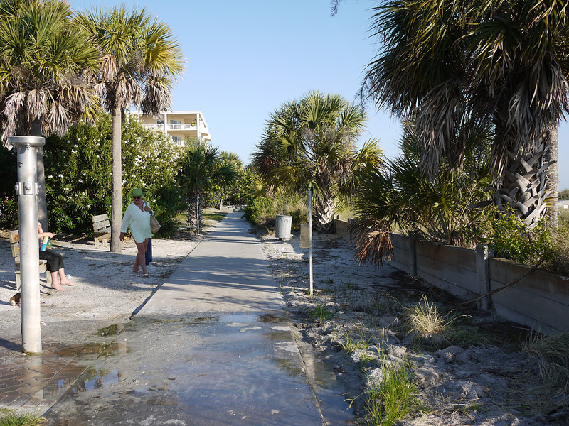 The public beach walk on Treasure Island.<br /> ©2012 Thomas Stanziale. All rights reserved.