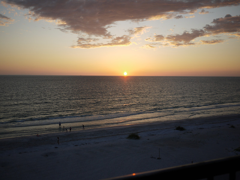 Sunset at Indian Shores.