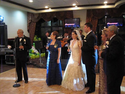 Toasts at Alex & Edelweiss' Reception - The Club Arabe Hondureño, San Pedro Sula, Honduras