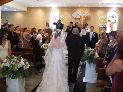 Alex & Edelweiss' Wedding Ceremony, San Pedro Sula, Honduras