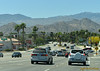 Entering Palm Desert where the mountains come down to greet you...