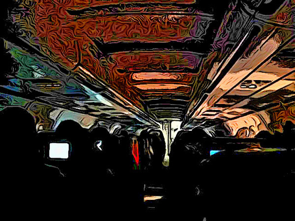 Ipad art from the bus ride to Logan...