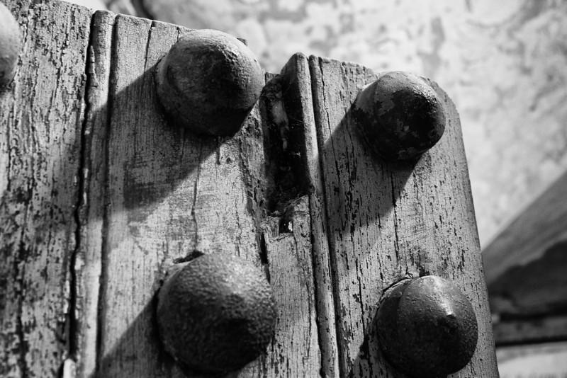 The dungeon door