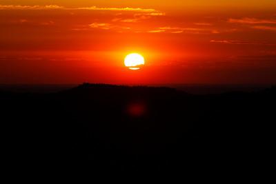 Sunrise over the Black Hills