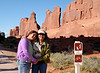 More of Arches National Park.  Mom and Savannah pose so nicely!