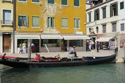 Venice September 11, 2015: St. Mark's, Doge's Palace, Gondola Ride