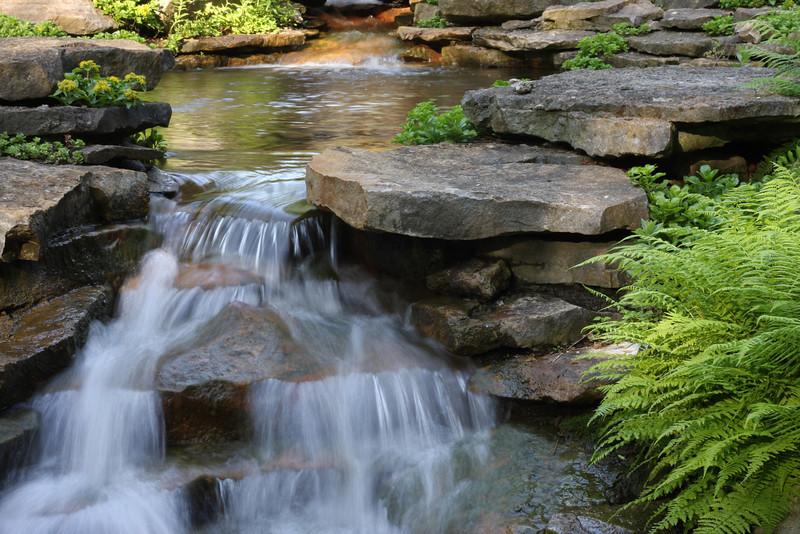 Inniswoods Garden waterfall