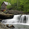 Waterfall at Glade Creek Grist Mill