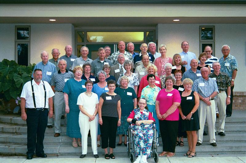 2002 - August - Northfield HS 1957 class reunion