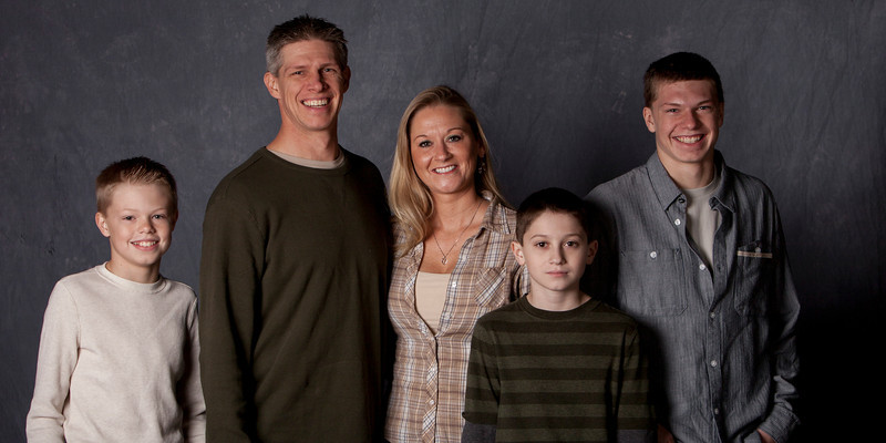 Valerie and her family