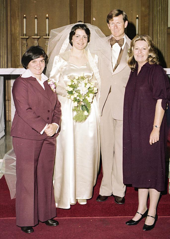 Wedding Oakland, CA November 4, 1978