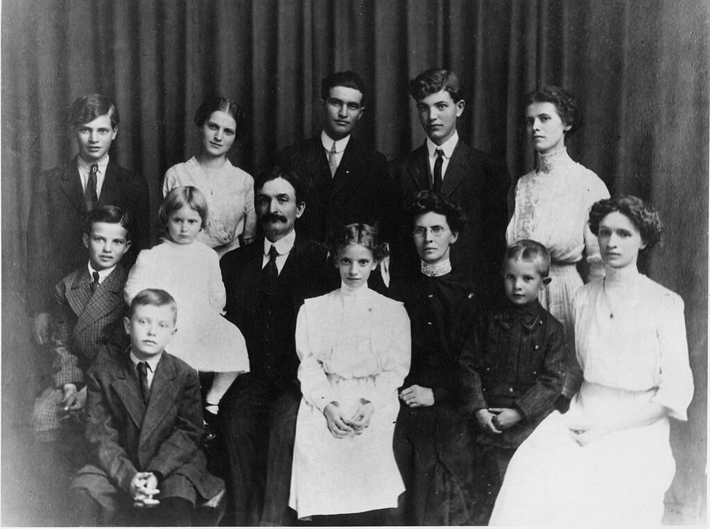 La famille de Francis Monroe Cole